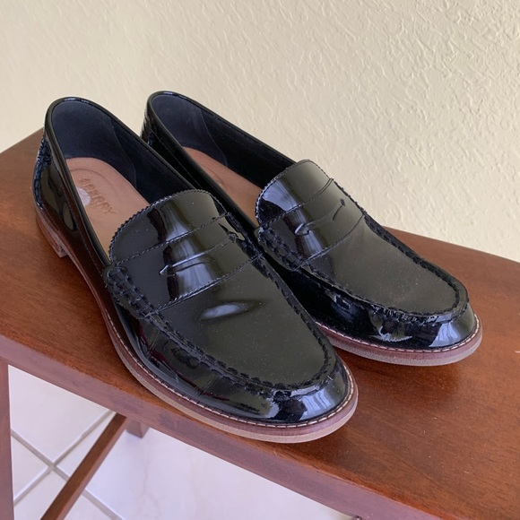 Sperry Shoes | Sperry Black Patent